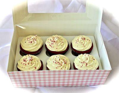 Aatun apajilla: Red Velvet kuppikakut / Red Velvet Cupcakes