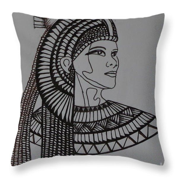 Decorative Pillows Makeup : Ancient Beauty Throw Pillow by Linda McMillen Art For Sale Pinterest Beauty, Throw pillows ...