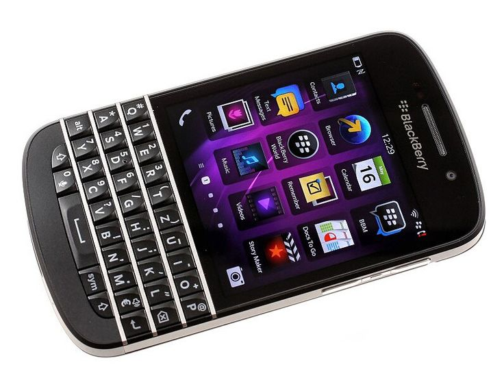 Original BlackBerry Q10 4G TLE Mobile Phone BlackBerry OS 10 Dual core 2GB RAM 16GB ROM 8MP Camera GPS WIFI Blutooth Phone