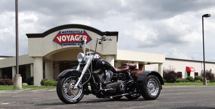 Harley-Davidson Dyna Wide Glide - Voyager Standard Trike Kit 1 #harleydavidsondyna