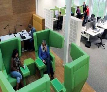 Akustik Ofis Tasarımları Ofislerde Kişisel Alanlar #akustikofis #officedesign