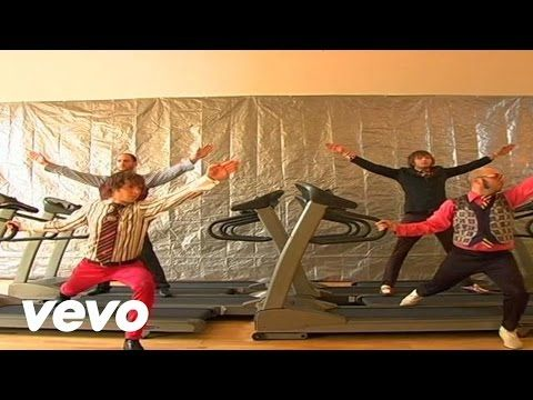 OK Go-Here It Goes Again---Love this video.  I am fairly coordinated, but I definitely would fall on my face if I had to dance like this on a treadmill.