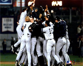 2000 World Series Champs I went a 2001 World Series game but will always want to go to another, Lets Go Yankees!!!