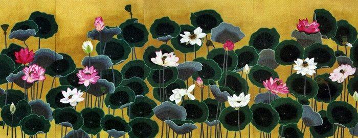東大寺本坊の襖絵 : 折々の記