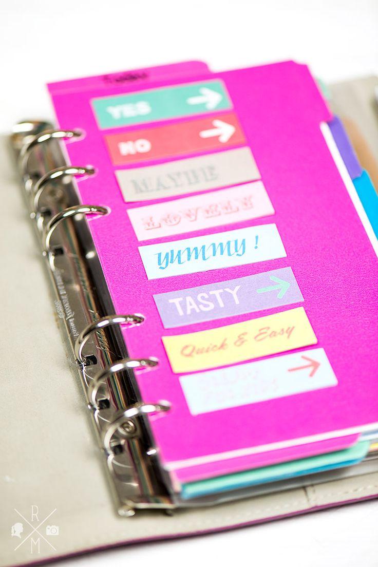 Organize my Life: Meine Filofax Organisation inkl. Blogplanung, Essenplaner und ein paar Tipps