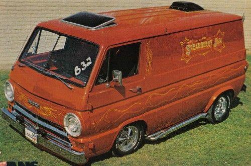 Dodge Van by Pleasure Programmed, via Flickr