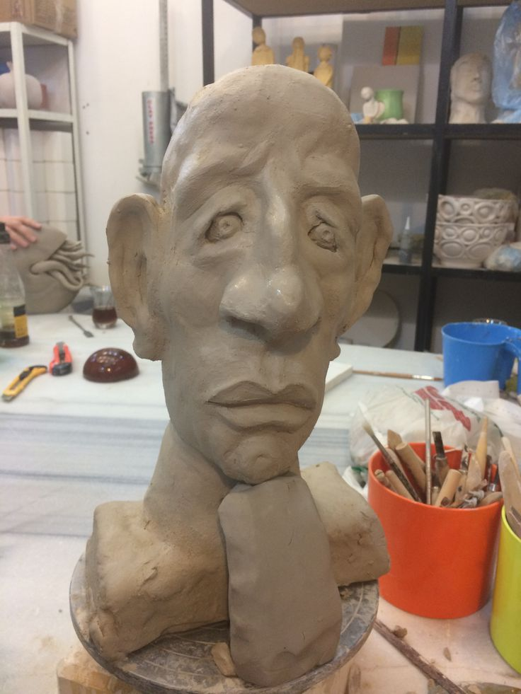 Sculpture, Clay, Ceramic - Ayse Ozturkmen
