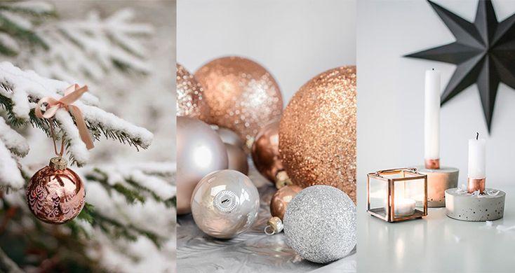 Bronze kleur | glitters | kandelaars | wittebomen