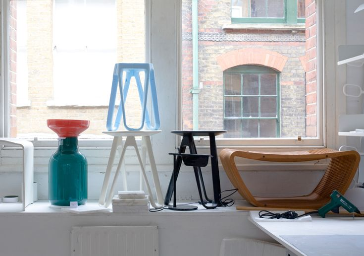 during london design week 2010, local designers edward barber and jay osgerby opened up their studio to visitors, including designboom