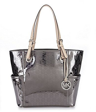 MICHAEL Michael Kors Jet Set Monogram EastWest Tote Bag #Dillards I am  needing this bag
