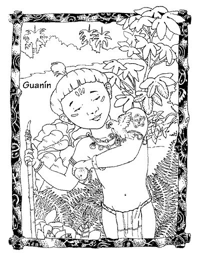 exit studio kids corner tano coloring page - Free Coloring Pages Of Puerto Rico