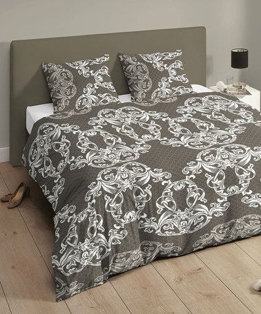 Take a look at this Taupe Baroque Kingsize Duvet Set by Descanso on #zulily today! http://www.zulily.co.uk/invite/akennington3
