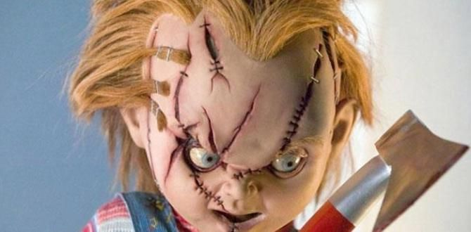 Katil bebek Çaki (Chucky) 23 Ekim'de geri dönüyor! #sinema #haber #chucky
