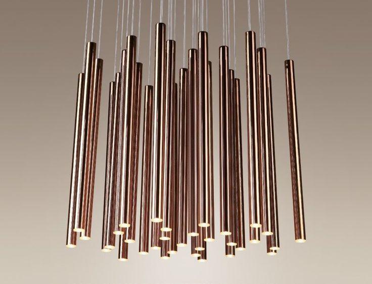 Maxlight Lampa wisząca LED Organic Copper P0174 : Sklep internetowy Elektromag Lighting #copper #lamp
