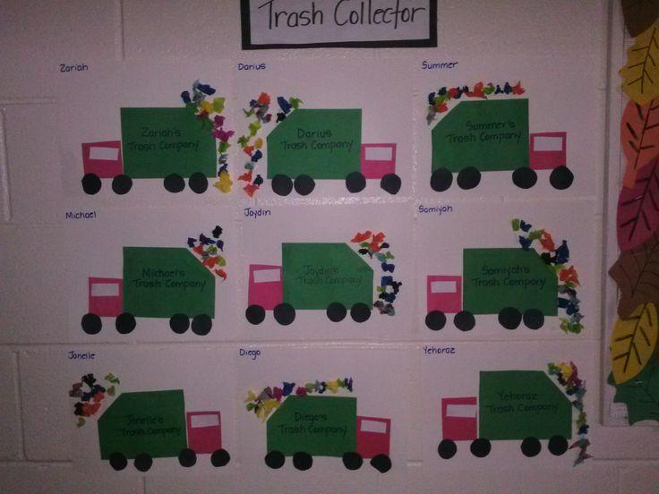Community Helpers Week     ( Trash Collector )