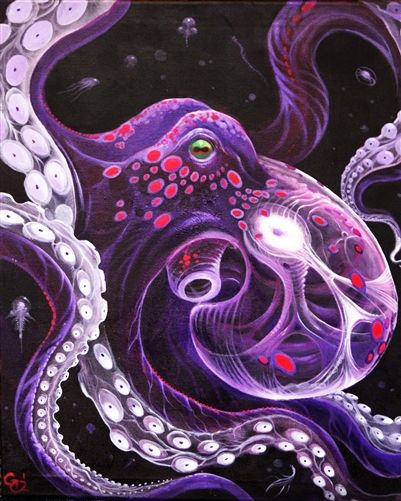 Eight Arms of Inspiration: The Octopus Art Project Book
