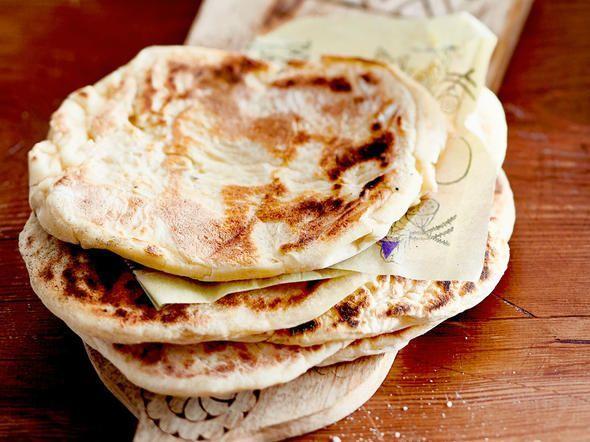 Naan-Brot backen - so geht's Schritt für Schritt