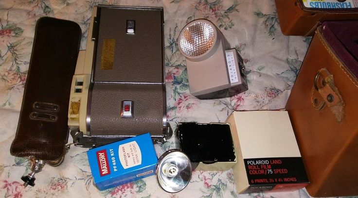 Vintage Polaroid instant camera #Polaroid