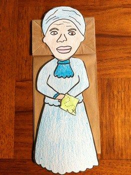 Harriet Tubman Puppet