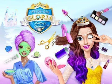 Princess Gloria Makeup Salon - Learn Colors Kids Game - Fun Care Magic P..