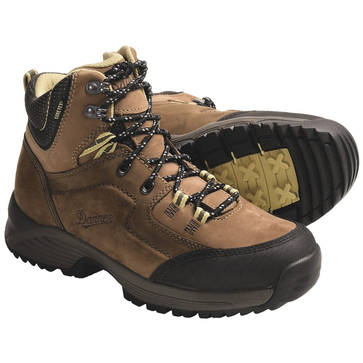 Women's Zig Zag Trail Brown Hiking Boots 83