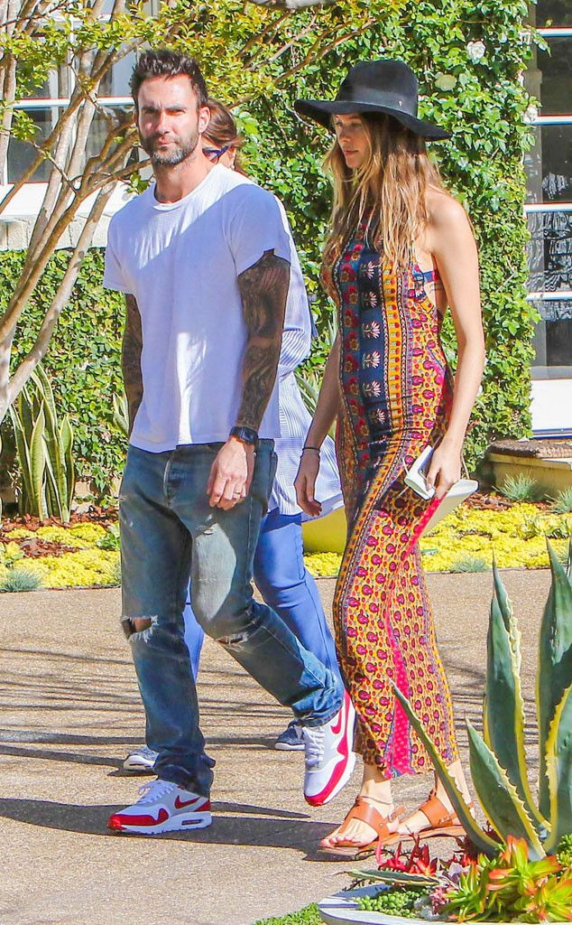 Pregnant Behati Prinsloo and Adam Levine Search for the Perfect House Before Their First Child Arrives | E! Online Mobile