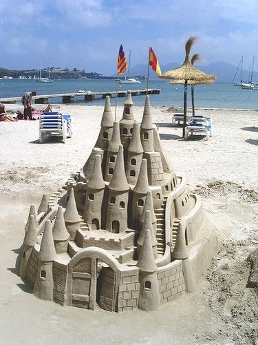 sand castle by paulaqwest