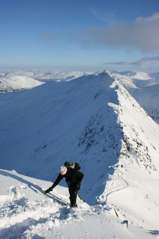 Striding Edge, Helvellyn, Lake District