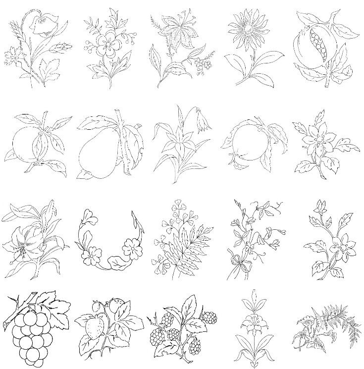 Embroidery designs patterns free pixshark