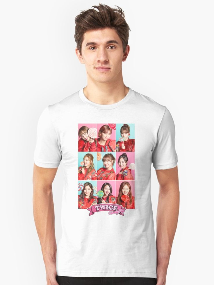 TWICE | Unisex T-shirt | TWICE MERCH // #TWICE #nayeon #jeongyeon #momo #sana #jihyo #mina #dahyun #chaeyoung #tzuyu #shopping #kpop #korean #girlgroup #지효 #나연 #정연 #모모 #사나 #미나 #다현 #채영 #쯔위 #트와이스 #fashion #tumblr #shop #sale #likey #twicetagram #heartshaker #candypop #cosmopolitan