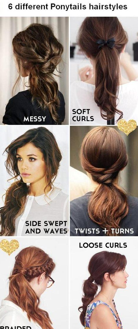 138 best Ponytail Hair images on Pinterest | Braids, Hair dos and Beleza