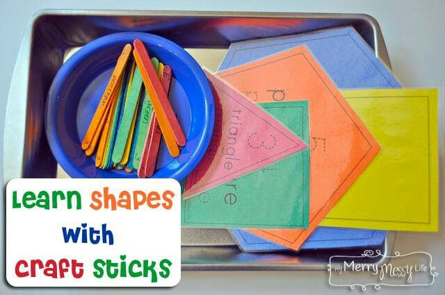 17 Best Images About Shape Activities On Pinterest