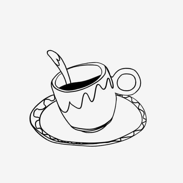 فنجان القهوة تصميم ناقلات النمط الغربي بالنيابة تصميم ناقلات النمط الغربي ناقلات Png وملف Psd للتحميل مجانا Coffee Cups Black And White Coffee