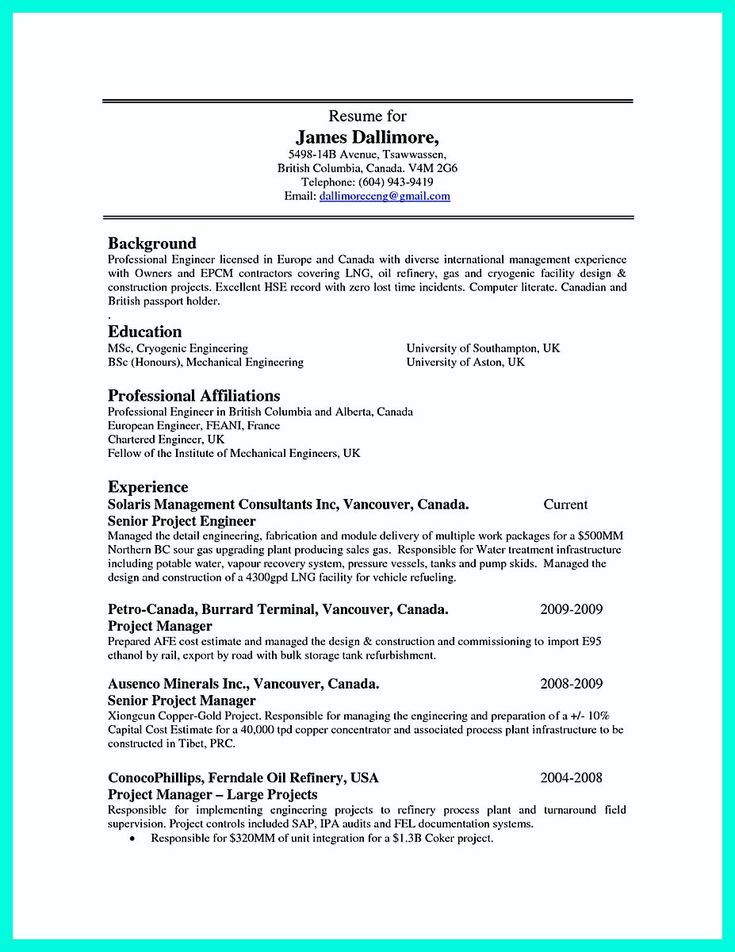 Manual Machinist Resume Examples Samples Template