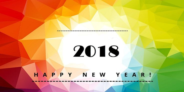 30+ Beautiful New Year 2018 Full HD Wallpapers | CPM