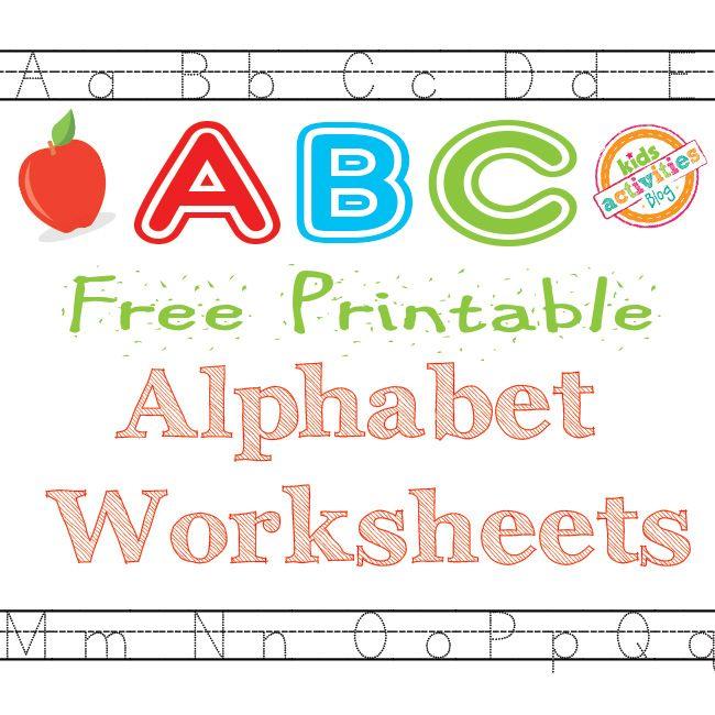 1000+ ideas about Alphabet Worksheets on Pinterest | Abc ...