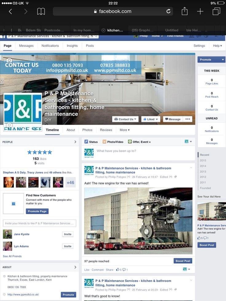 Our facebook page. www.ppmsltd.co.uk