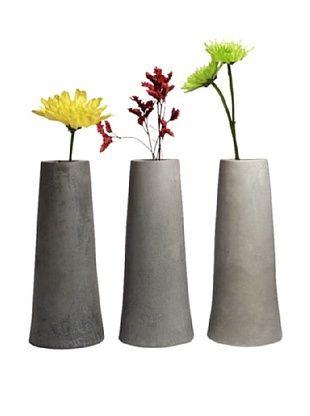78% OFF MU Design Co. Concrete Vase: Pylon 3