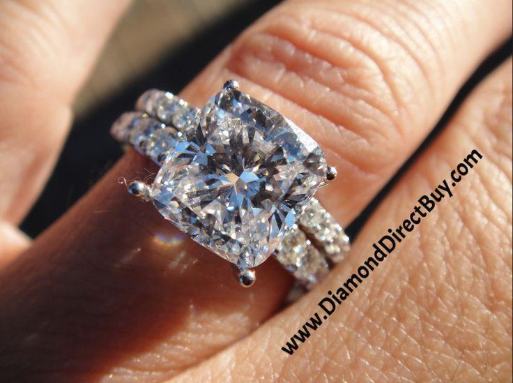 Simple DiamondDirectBuy custom made ring sold direct NO STORE