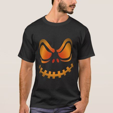Cool Glowing Pumpkin Halloween Shirt - tap to personalize and get yours