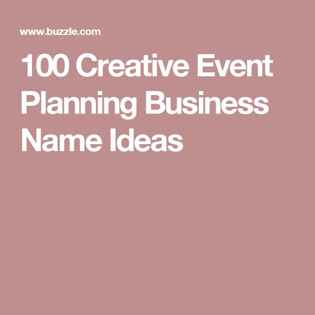 25 best ideas about event planning business on pinterest With wedding planning business name ideas