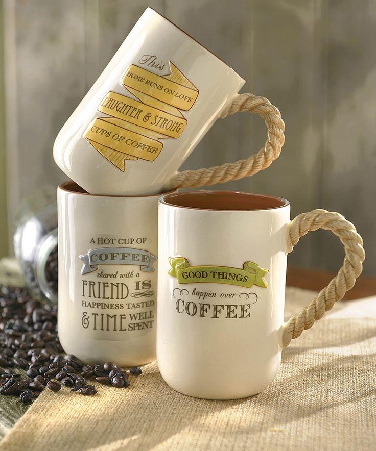 Morning inspiration mug set by grasslands road craftsy for Grasslands road mugs