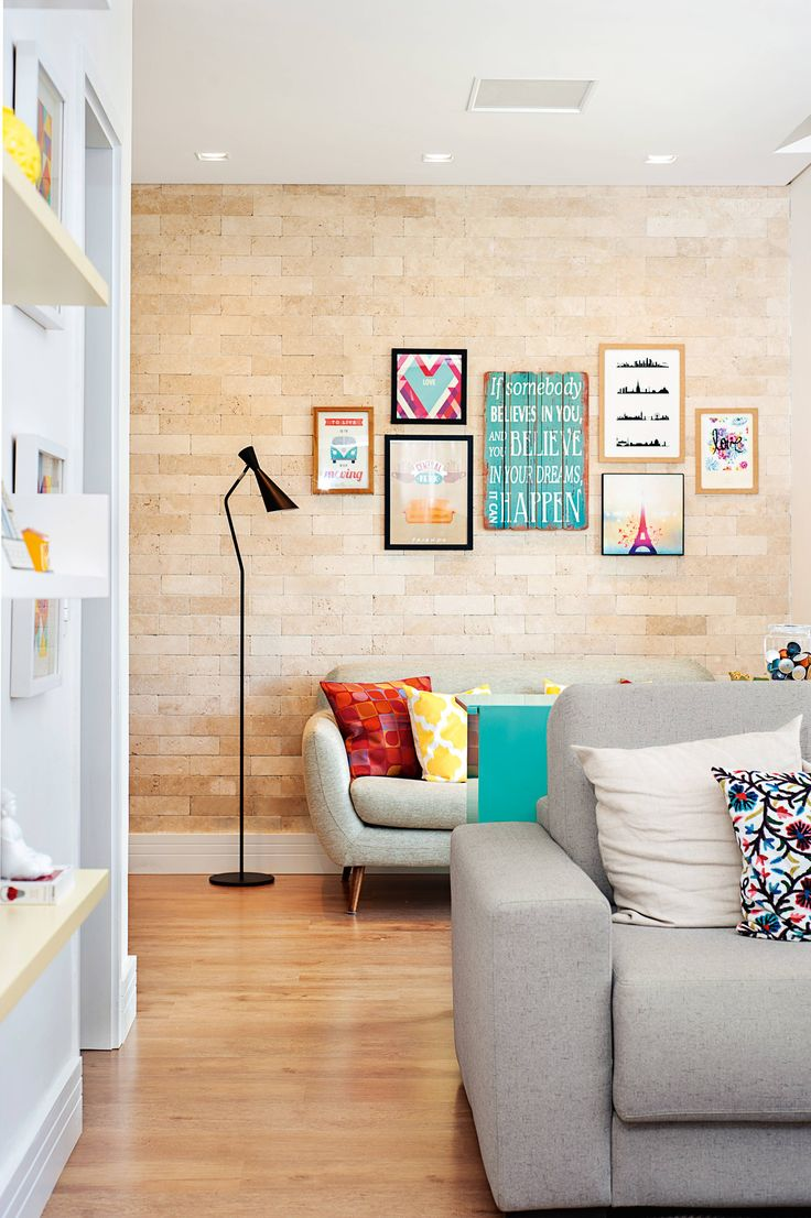 Apartamento pequeno: 60 m² de puro aconchego | Minha Casa