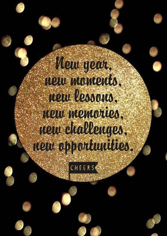 Neujahrsgrüße » Kreative Neujahrswünsche zum Download