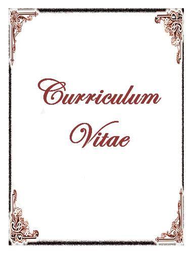 portadas de curriculum vitae - portadas para curriculum vitae