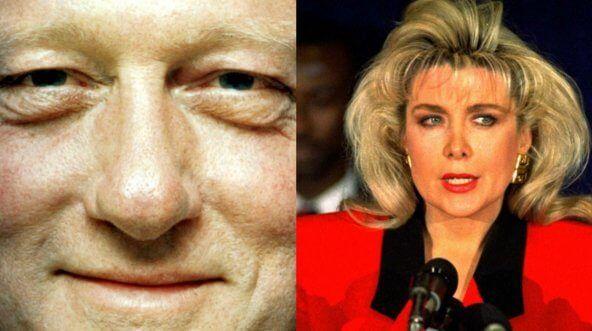 Bill Clinton and Gennifer Flowers
