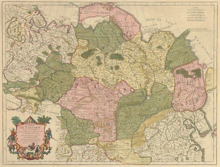 Карты Великой Тартарии