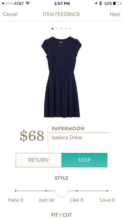 Stitch fix papermoon isadora dress Fix 8: January 2017 - Returned https://www.stitchfix.com/referral/8403075