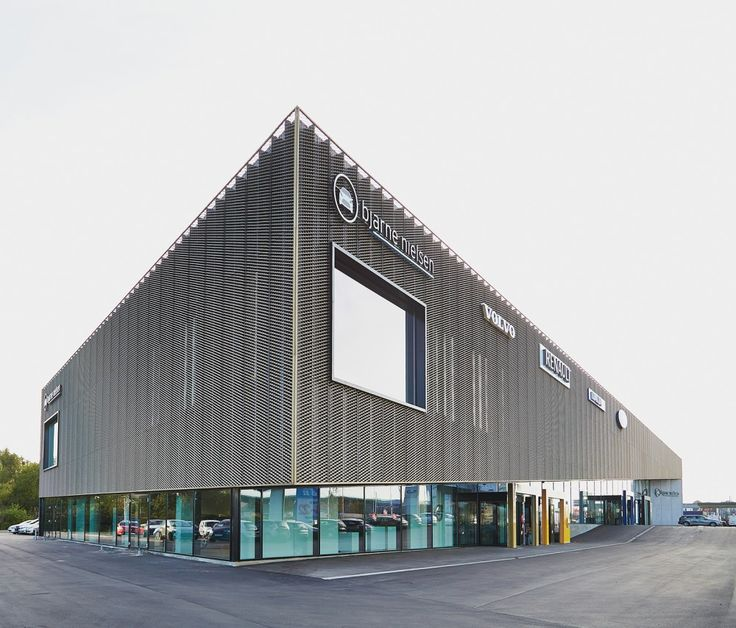 Automotive Showroom in Herning / KRADS
