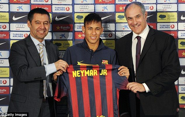 Brazilian investment company DIS believe they have been cheated out of a percentage of Neymar's actual transfer fee